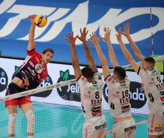 Tie break amaro per i Piacenza, Trento vince gara 1