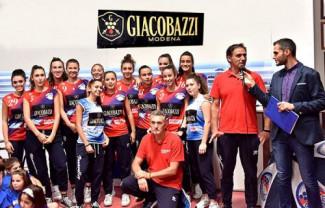 Presentazione Nonantola Volley presso Giacobazzi Vini