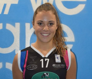Nure Volley: la carica del nuovo libero Beatrice Giovanna