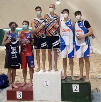 Monti-Zoli: terzo podio di fila al campionato italiano di beach volley a squadre