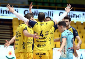 Leo Shoes Modena - Top Volley Cisterna 3-1