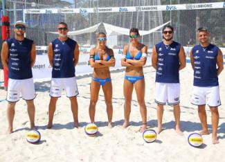 Beach Volley, Leonardi-Benazzi in corsa per la Coppa Italia