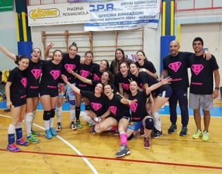 Liverani Castellari Lugo-Rovigo 3-1 (21-25, 26-24, 25-21, 25-23)