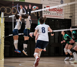 S.G.A. MioVolley vs AS Corlo 0-3 (17-25; 17-25; 15-25)