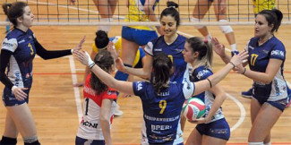 Volley Stadium Mirandola vs Moma Anderlini 1-3