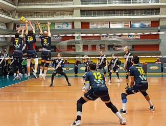 Ama San Martino-WiMORE Energy Parma 3-2 (25-22, 19-25, 19-25, 25-21, 15-9)