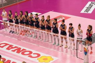La Conad Olimpia Teodora Ravenna attende Busto Arsizio nel big match della prima giornata della Pool salvezza