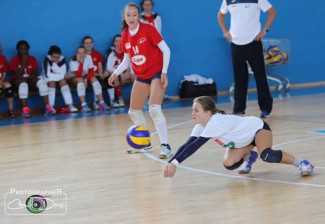 Francesca Passerini baluardo della difesa del Nure Volley