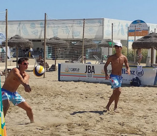 Alessio Perodi (Canottieri Ongina) diciassettesimo ai tricolori under 19 di beach volley