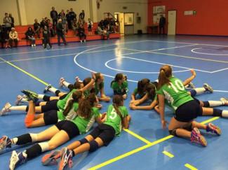 Avvio boom delle giovanili femminili di Riviera volley rimini: 15 gare disputate, nessun set perso
