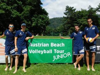 Doppio nono posto per i team under di beach volley di Powerbeach in Austria