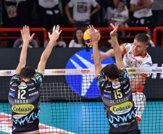 Perugia-Ravenna 3-0