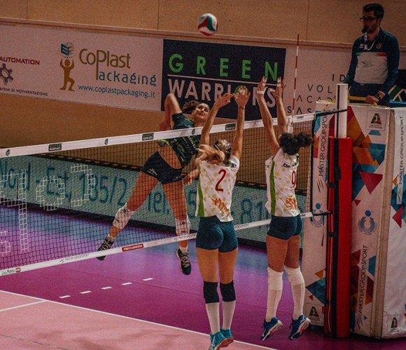 Turno infrasettimanale per la Green Warriors Sassuolo