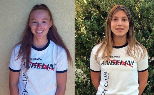 Volley Club Cesena: ecco le giovanissime Zuffi e Conficconi