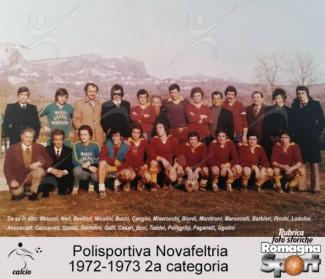 FOTO STORICHE - Polisportiva Novafeltria 1972-73