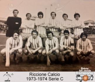 FOTO STORICHE - Riccione Calcio 1973-74