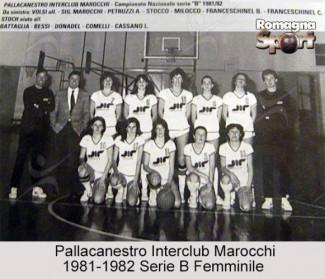 FOTO STORICHE - Pallacanestro Interlcub Marocchi 1981-82