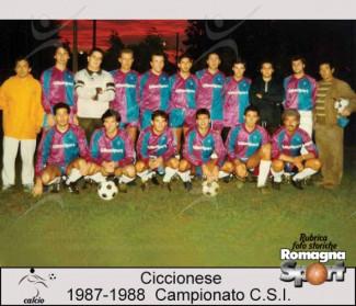 FOTO STORICHE - Ciccionese 1987-88