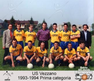 FOTO STORICHE - US Vezzano 1993-94
