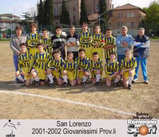 FOTO STORICHE - Giovanissimi San Lorenzo 2001-02