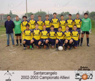 FOTO STORICHE - Santarcangelo 2002-03 - Cat. Allievi