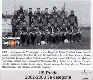 FOTO STORICHE - US Prada 2002-03
