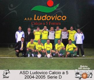 FOTO STORICHE - ASD Ludovico Calcio a 5 2004-05
