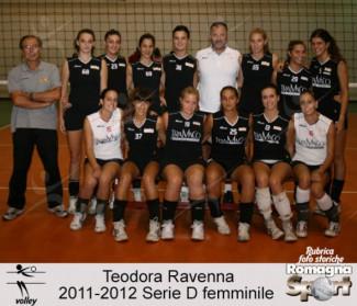 FOTO STORICHE - Teodora Ravenna 2011-12