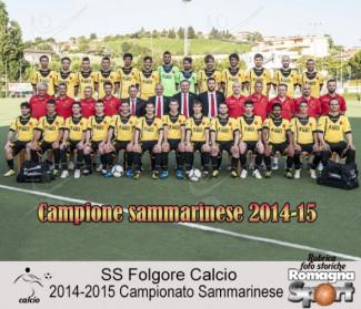 FOTO STORICHE - SS Folgore Falciano 2014-15