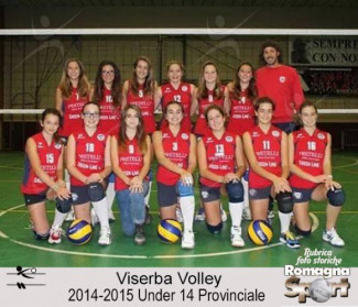 FOTO STORICHE - Under 14 Viserba Volley 2014-15