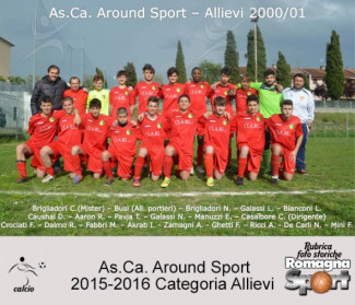 FOTO STORICHE - AS.CA. Around Sport Allievi 2015-16
