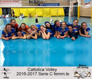 FOTO STORICHE - Cattolica Volley 2016-17