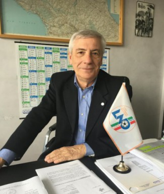 Figc Crer - Saluto del presidente Braiati per l'inizio dei campionati