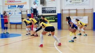 Gruppo Helyos Riccione Volley-FSE Progetti Rubicone In Volley 3-1