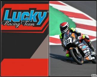 Andrea Raimondi portacolori del Lucky Racing Team si dice soddisfatto dopo il test di Varano.