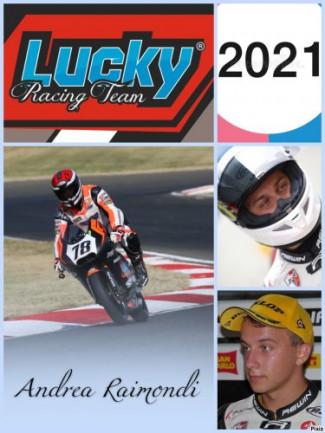 Il Lucky Racing Team all'Autodromo del Mugello con Andrea Raimondi fa progressi ed è già veloce