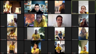 BVOLLEY ROMAGNA: con l'aiuto della tecnologia l'UNDER 13 riparte con gli allenamenti!