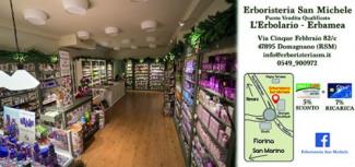 Usa la tua Sport Card presso il negozio Erboristeria San Michele di San Marino