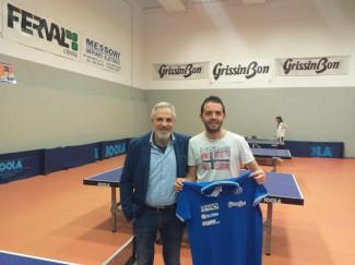Tennistavolo, botto di mercato per il Reggio Emilia Ferval: arriva il pluriscudettato Mattia Crotti