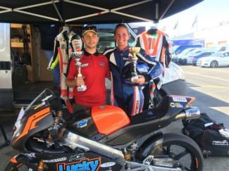 Due podi in questo weekend a Varano dè Melegari per il Lucky Racing Team