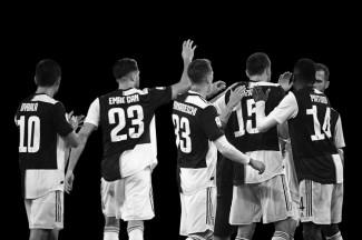 La Juventus in visita al Garden