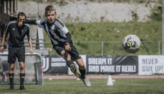La Juventus arriva al Garden con il suo Summer Camp