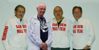 I Master Garden premiati dal CONI