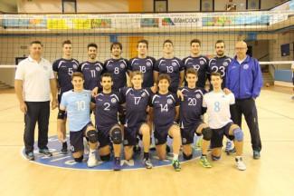 La nazionale maschile sammarinese gioca un torneo a Modena