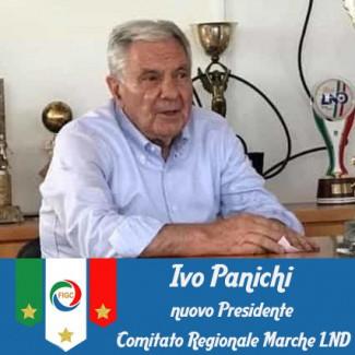 Ivo Panichi è il nuovo Presidente del Comitato Regionale Marche LND