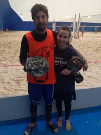 Riviera Beach Viserba:vincono Ratti-Zaghini