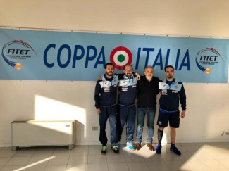 Tennistavolo, il Reggio Emilia Ferval onora la Coppa Italia di serie A con un colpaccio: superata Genova (3-2).
