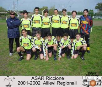 FOTO STORICHE - A.S.A.R. Allievi 2001-02