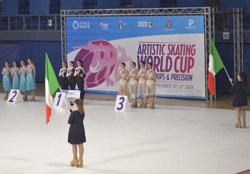 Riccione a Pesaro per la prima edizione dell'Artistic Skating World Cup