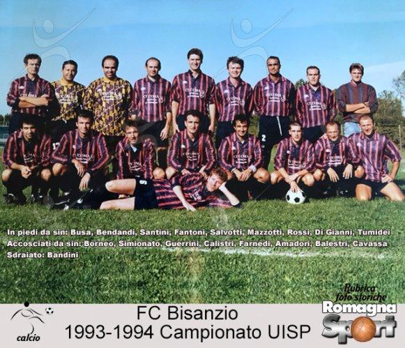 FOTO STORICHE - FC Bisanzio 1993-94